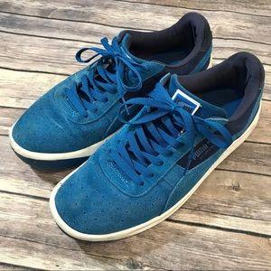 Puma Mens Blue GV Special Low Top Sneaker Shoes 11 157fe729f